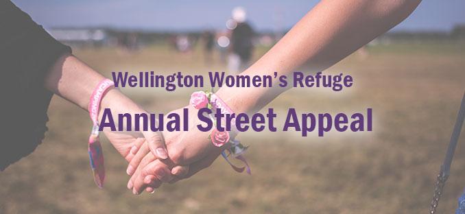 Wellington Womens Refuge Annual Street Appeal